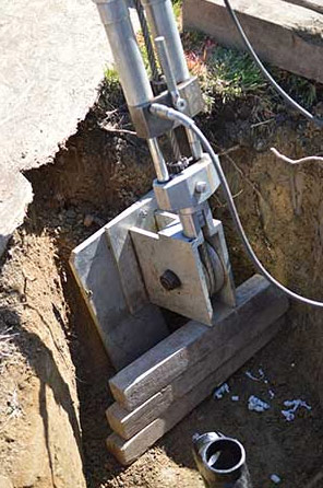 the tool used by our Milpitas trenchless sewer repair team